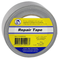 105 Silver Cloth Tape Retail 48mm x 25m