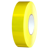 5035 Reflective Tape Fluro Yellow 48mm x 45m