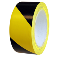 557 Floor Marking Tape Black/Yellow 48mm x 33m
