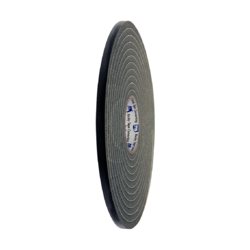 812 Soft PVC Foam Tape Black 12mm x 7m