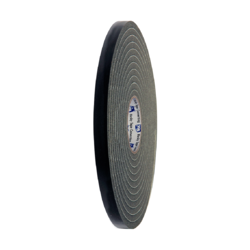 832 Soft PVC Foam Tape Black 18mm x 25m